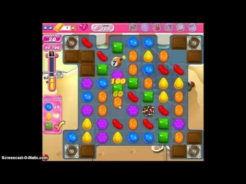 Candy Crush Saga Level 165 - 3 Stars - No Boosters