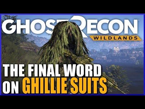 DO GHILLIE SUITS WORK? Ghost Recon Wildlands Ghillie Test