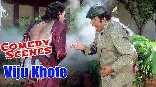 Viju Khote Best Comedy Scenes   Andaz Apna Apna   Bollywood Comedy Movies