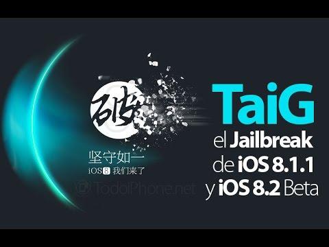 How to Jailbreak iOS 8.1.1, iOS 8.2 beta using TaiG