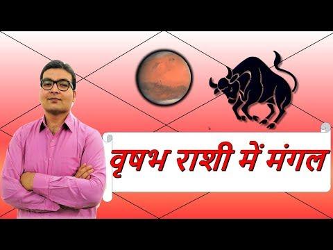 वृषभ राशि में मंगल के परिणाम (Mars In Taurus) | ज्योतिष (Vedic Astrology) | हिंदी (Hindi)
