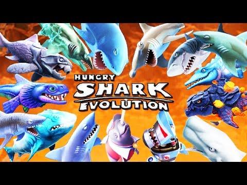 Hungry Shark World - Todos los 28 tiburones desbloqueados Hack Mod