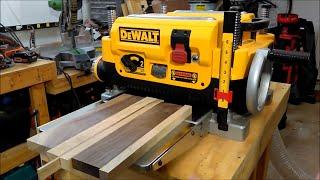 DeWalt DW735X Planer Unboxing and Setup: A New Woodworker's