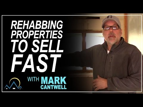 Rehabbing Properties to Sell Fast
