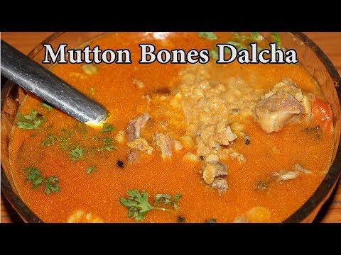 Telangana Dalcha with Mutton Bones @ Mana Telangana Vantalu