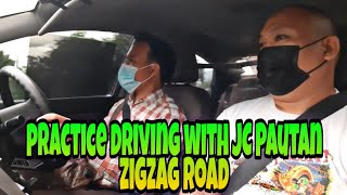 Zigzag Road Na Daan Practice Driving With JC PAUTAN... #Driving Tutorial