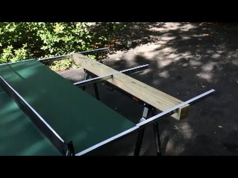 Homemade Outdoor Ping Pong Table.