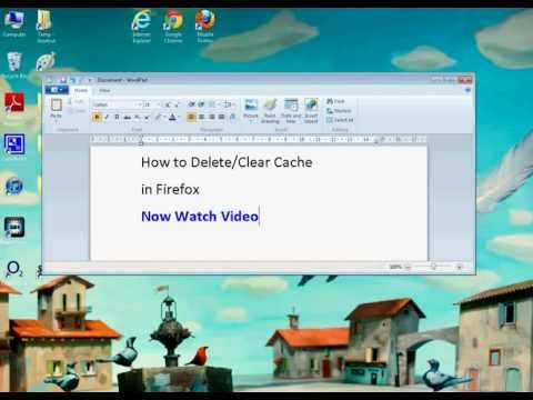 Firefox How to Clear Cache (Simple)