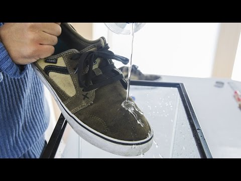 How to make Waterproof Shoes - Science Experiment