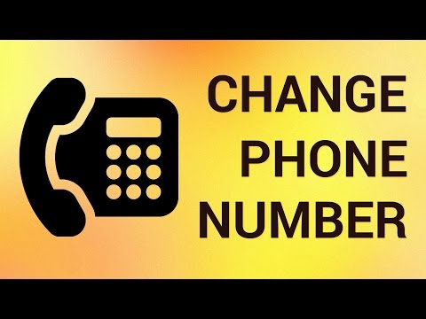 How to Change Phone Number Online
