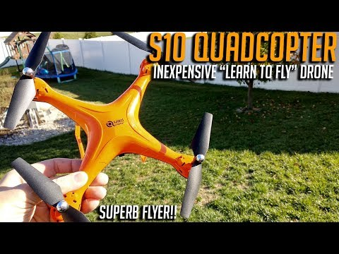 S10 Quadcopter Review, Perfect Inexpensive
