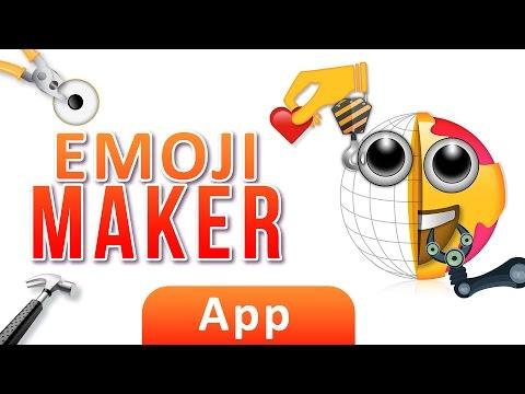 Emoji Maker | App | Funny Texting | Custom Emoji | Maker | Tutorial | video