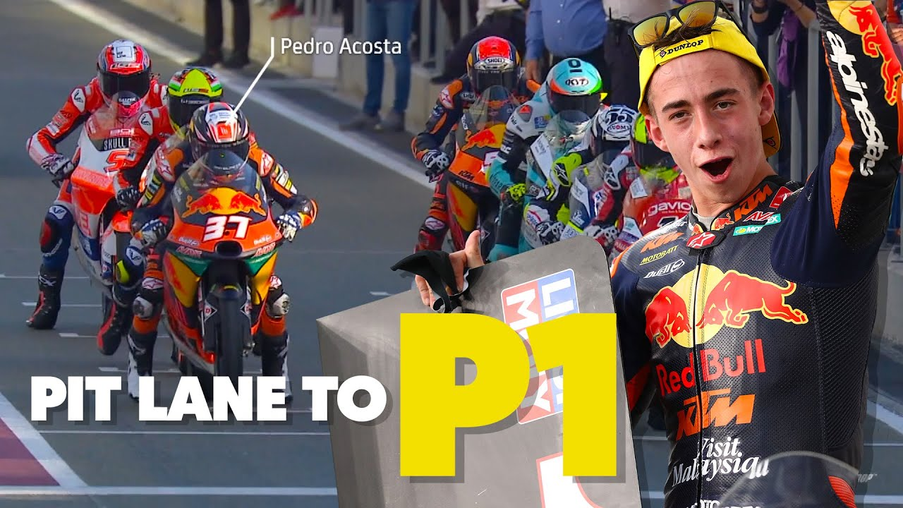 From Pit Lane to P1 - Pedro Acosta's Amazing Comeback Win