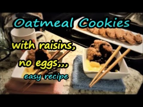 Oatmeal Cookies homemade soft and chewy gourmet style