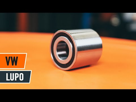How to replace front wheel bearing VW LUPO TUTORIAL | AUTODOC