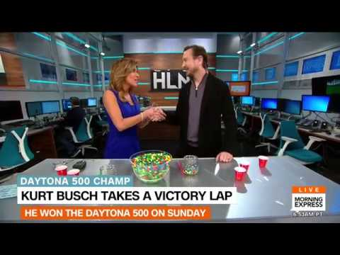 Daytona 500 winner Kurt Busch - Morning Express with Robin Meade Interview