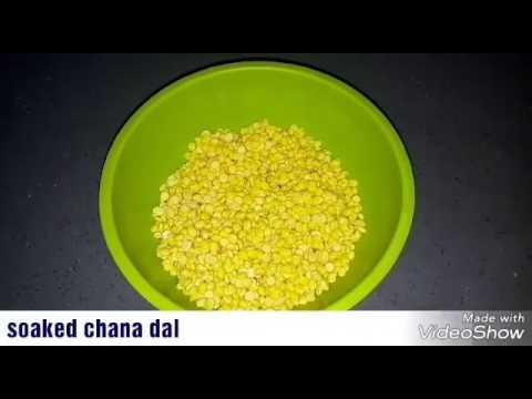 Masala vada curry recipe   Channa dal vada curry