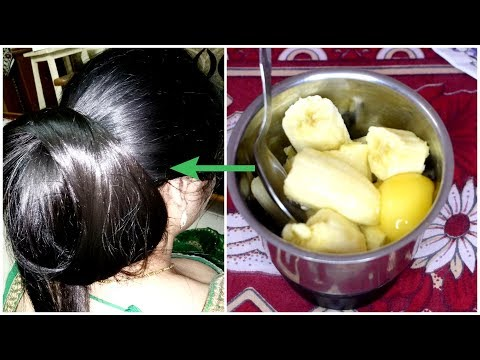 Banana And Honey Hair Mask For Super Shiny And Smooth Hair