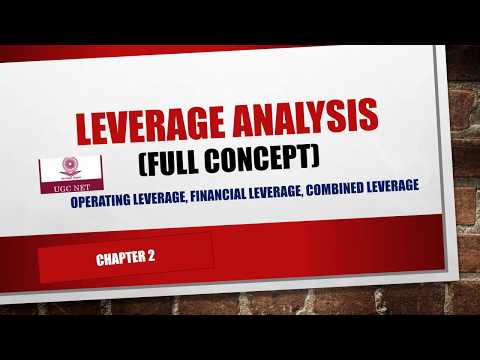 UGC NET COMMERCE|| MANAGEMENT||Leverage analysis|| FINANCIAL MANAGEMENT|| CLASS2