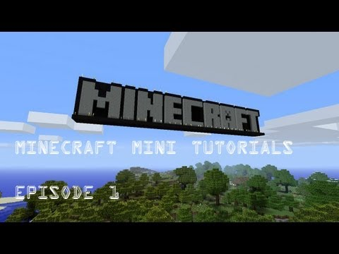 Minecraft mini tutorials EO1 how to get wheat seeds