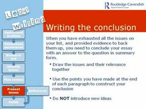 Legal Writing Skills Module 3: WRITING AND REFERENCING