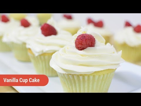 Easy Vanilla Cup Cake Recipe | Afropotluck