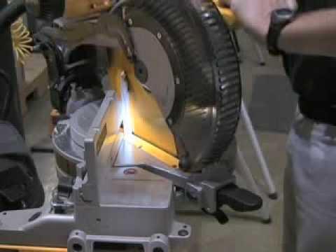 How to cut base board with a DEWALT Miter Saw