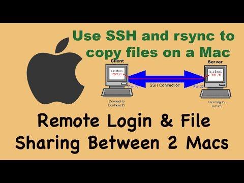 4 of 4: binding MAC addresses to IP address on LAN; Mac remote login