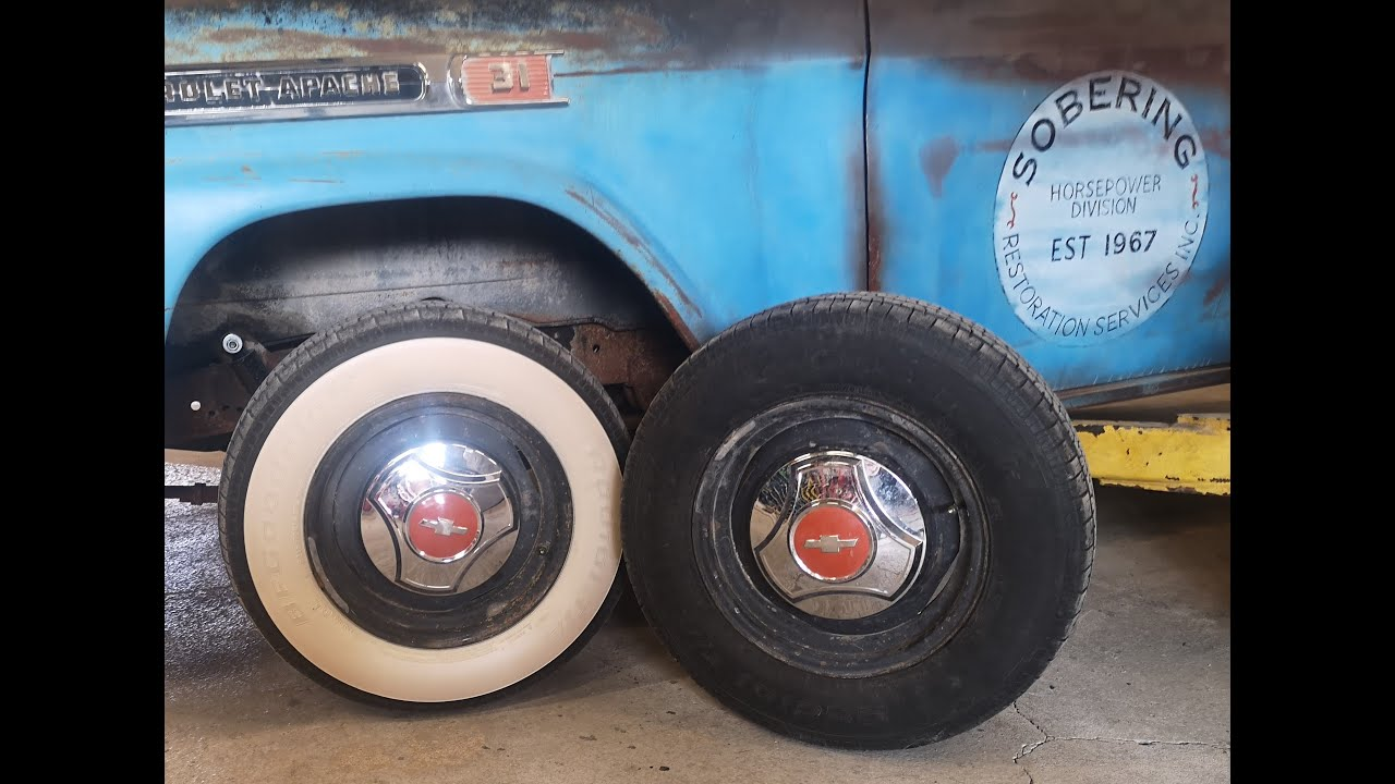 How To Make Your Own White Wall Tires