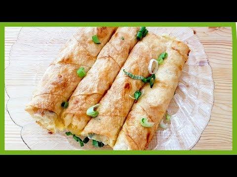 Potato, Onion and Cheese Filo Pastry
