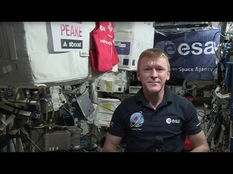 Being In Space Is No Excuse To Miss The London Marathon - Newsy