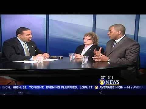 Michael Gandy, Jr. And Joyce Bender= interview with WPXI