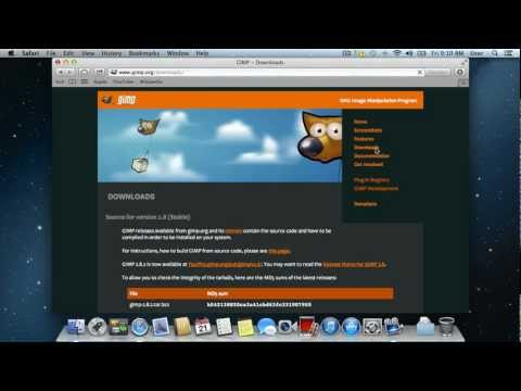 How to Download and Install GIMP for Mac