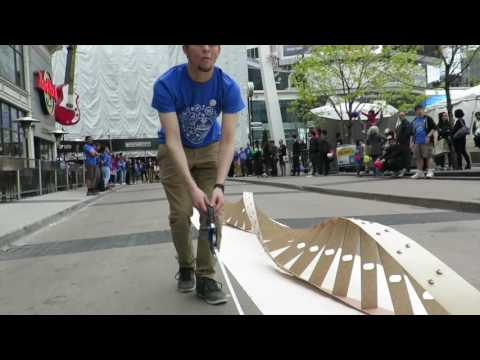 World Record DNA model build at Ryerson University