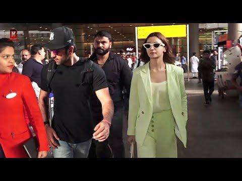 Xxx Mp4 Ranbir Kapoor Amp Alia Bhatt Arrives At Airport For Return After BRAHMASTRA Movie Shoot In Banaras 3gp Sex