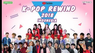 K-POP YOUTUBE REWIND INDONESIA 2018: HIT U WITH MY TEMPO