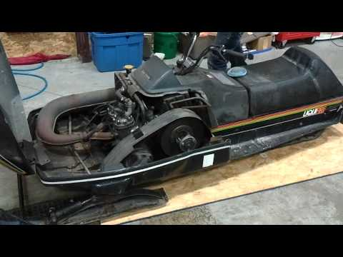 Cheap Craigslist snowmobile