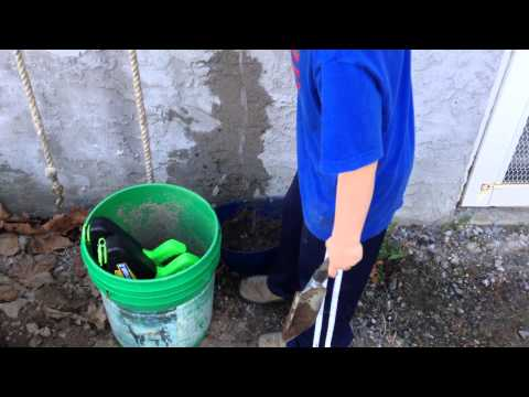 How to make mud cement.
