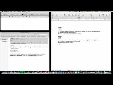 Text Edit Mac Tip: Copy and Paste
