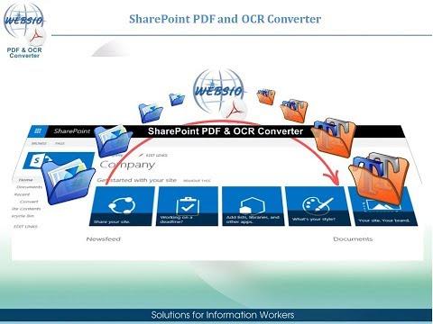 PDF & OCR Converter for SharePoint Server