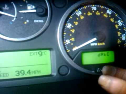 How to reset service light or indicator on Landrover Freelander 2