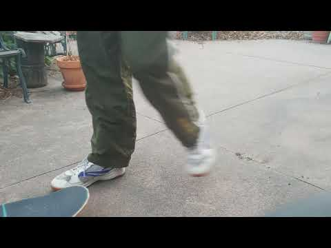 Learning to Ollie while moving