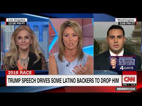 Dr.Estella Sneider on CNN: Naturalized U.S. Citizen From Mexico Supports Trump!