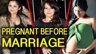 Bollywood Actress Who Got Pregnant Before Marriage | BMF