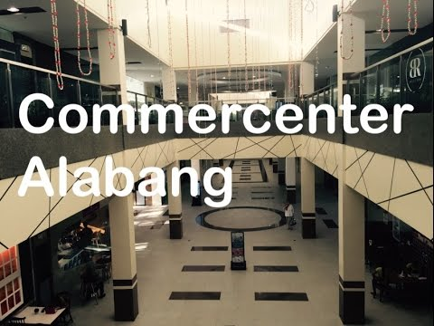 Commercenter Mall Alabang Now Open Walking Tour Overview by HourPhilippines.com
