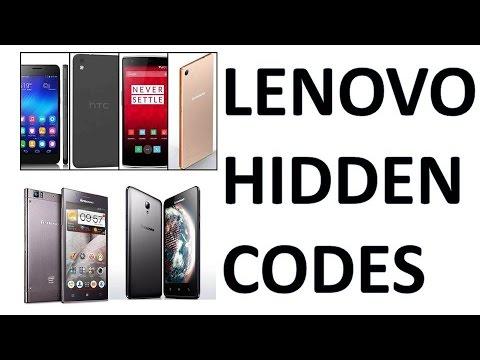 Lenovo Mobiles Secret Codes | Hidden | Master Codes | Mobile Codes