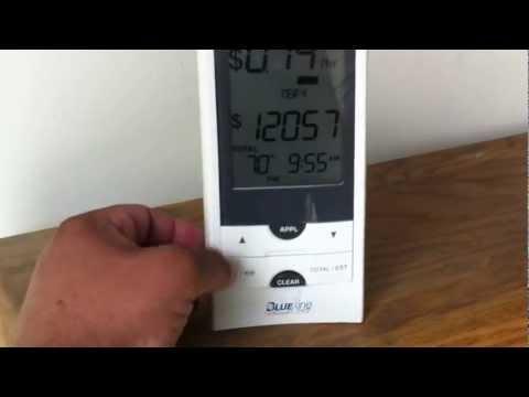 Sunpower E20 327 Watt Solar Panels 3.9Kwh System with Blueline Smart Innovation Power Cost Monitor