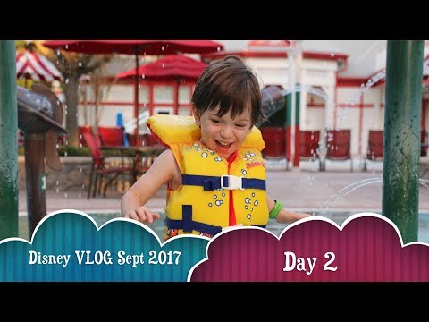 Disney Family Vacation 2017 - Day 2 | Saratoga Springs Resort | Hollywood Studios | Stormtroopers
