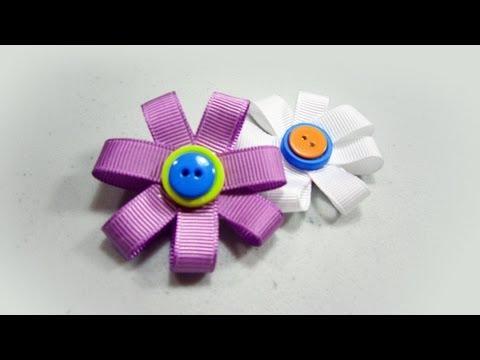 How to make flower brooch - EP - simplekidscrafts