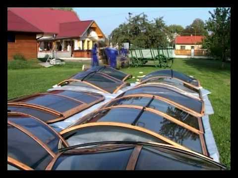 Installation of SPA SUNHOUSE, Hot Tub Enclosure